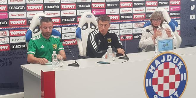 TRENER TOBOLA: Hajduk je jak europski klub, najopasniji su broj deset i 77