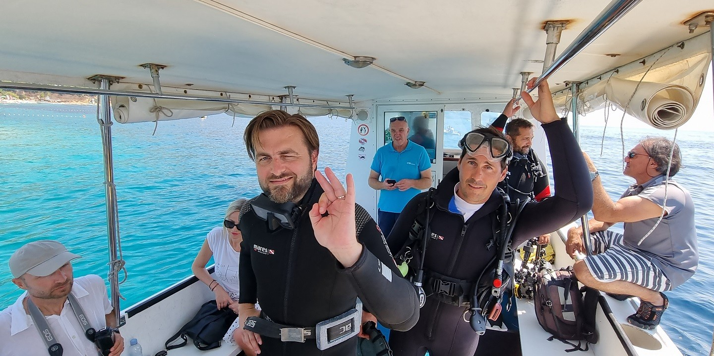 BOL Ministar Ćorić sudjelovao u ekološkoj akciji čišćenja podmorja