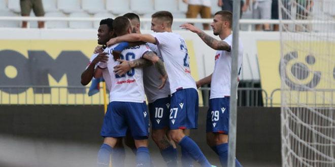 KRAJ Hajduk svladao Šibenik 1:0 golom Eduoka, Torcida krenula s navijanjem u drugom poluvremenu!