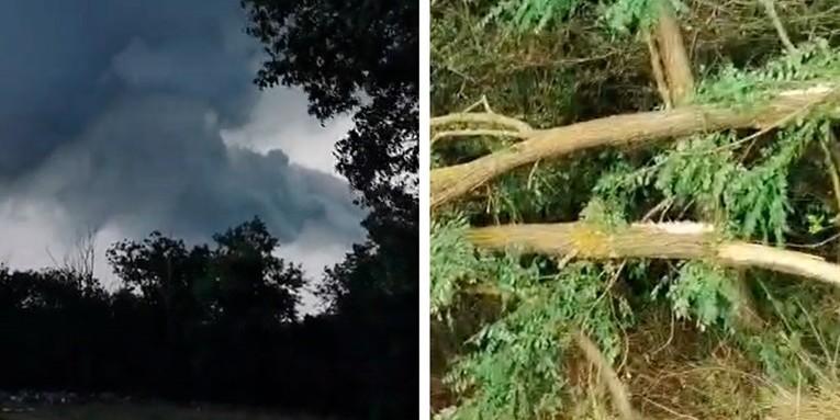 VIDEO Tornado u Istri