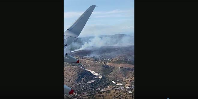 Pogledajte kako požar kod Segeta izgleda iz aviona