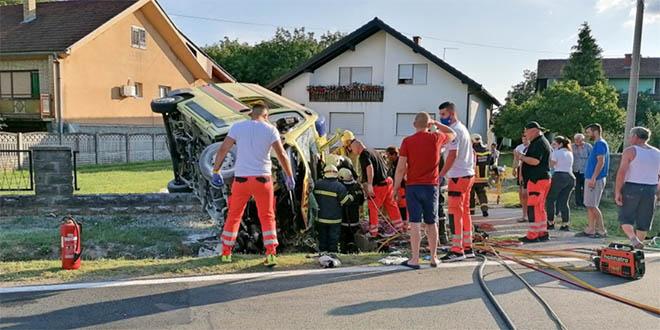 HOROR Sudar hitne i auta kod Virovitice, poginule pacijentica i medicinska sestra