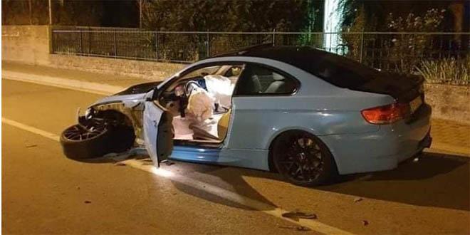 Prometna nesreća u Sinju, vozač prošao bez većih ozljeda