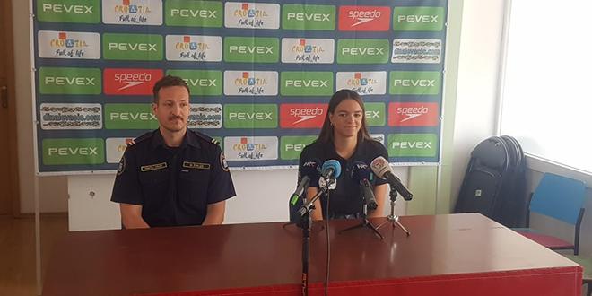 HUMANITARNI KARAKTER Dina Levačić plivat će u akciji 'Srcem za male heroje'