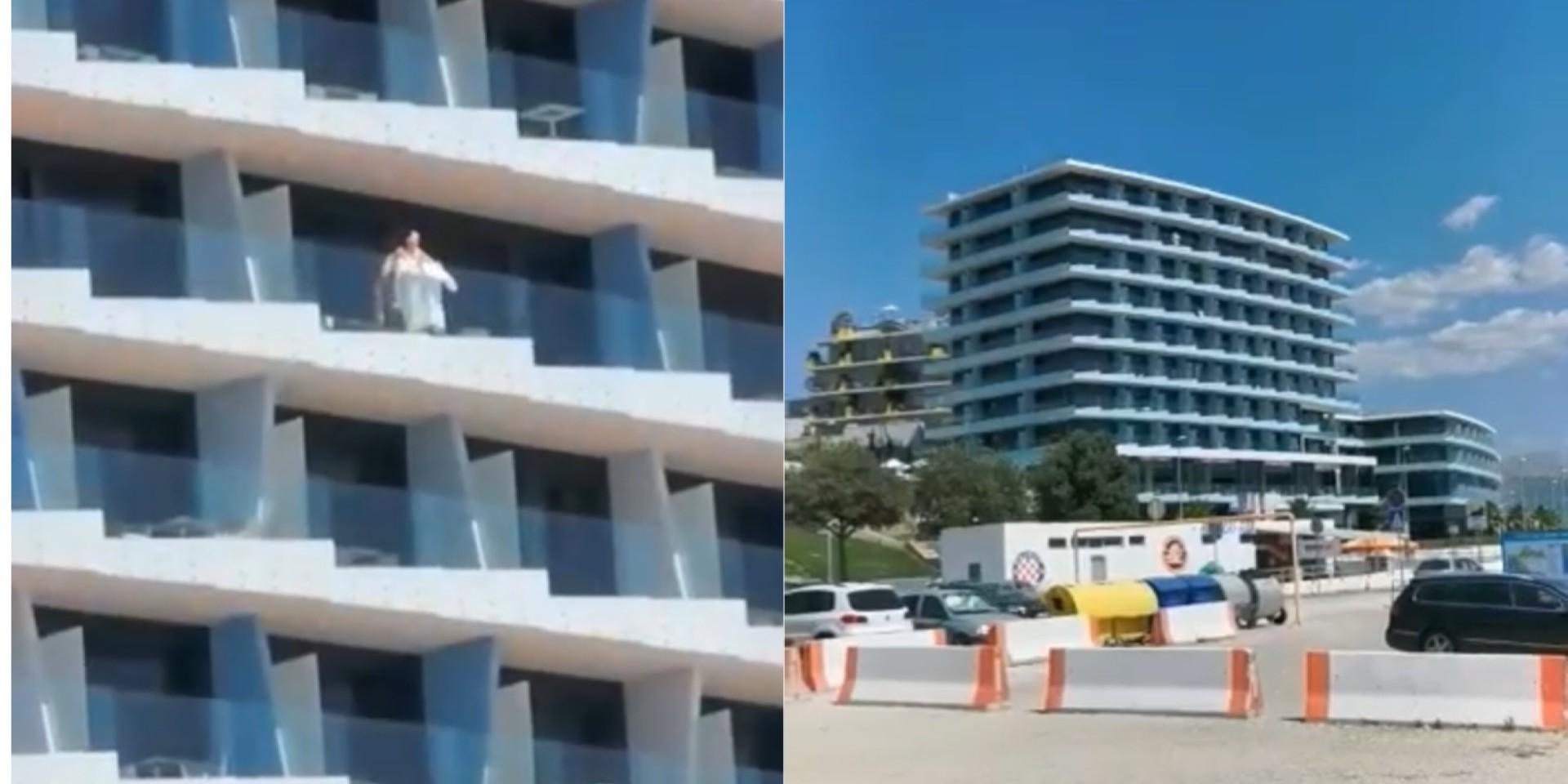 VIDEO: SIROVE STRASTI NA ŽNJANU Usred bijelog dana na balkonu vodili ljubav
