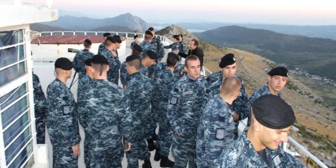 Kadeti studija vojnog pomorstva posjetili Zvjezdano selo Mosor