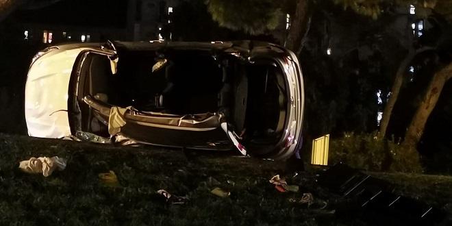 STRAVIČNA NESREĆA KOD POLJUDA Vozač preminuo u bolnici