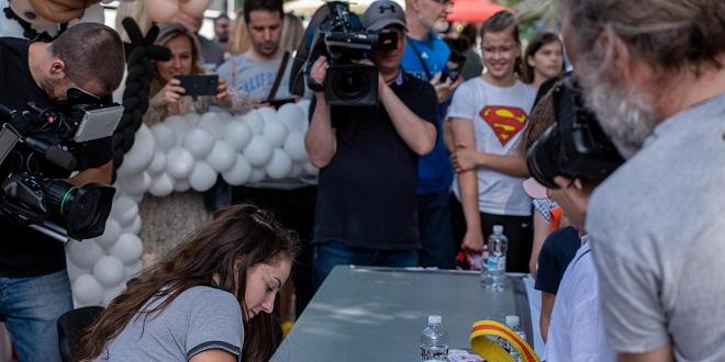 OTKRILA I PRIVATNE DETALJE Svjetska prvakinja Barbara Matić odgovarala na pitanja malih judaša i judašica